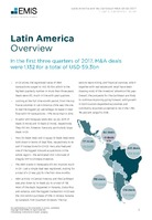 Latin America M&A Overview Report Q1-Q3 2017 -  Page 3