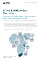 Africa and Middle East M&A Overview Report Q1-Q3 2017 -  Page 3