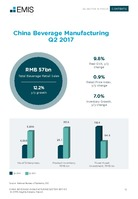 China Beverage Sector Report 2017 3rd Quarter -  Page 13