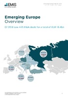 Emerging Europe M&A Overview Report Q1 2018 -  Page 3
