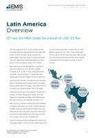 Latin America M&A Overview Report Q1 2018 -  Page 3