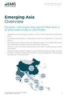 Emerging Asia M&A Overview Report Q1 2018 -  Page 3