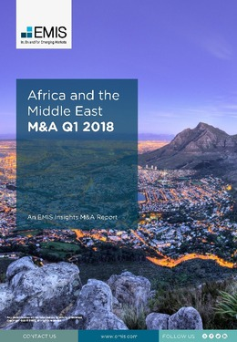 Africa and the Middle East M&A Overview Report Q1 2018 - Page 1
