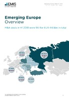 Emerging Europe M&A Overview Report H1 2018 -  Page 3
