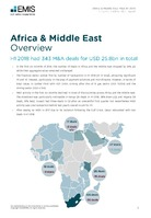 Africa and the Middle East M&A Overview Report H1 2018 -  Page 3