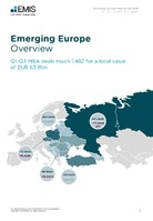 Emerging Europe M&A Overview Report Q1-Q3 2018 -  Page 3