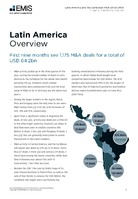 Latin America M&A Overview Report Q1-Q3 2018 -  Page 3