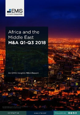 Africa and the Middle East M&A Overview Report Q1-Q3 2018 - Page 1
