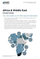 Africa and the Middle East M&A Overview Report Q1-Q3 2018 -  Page 3