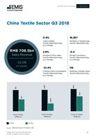 China Textile Manufacturing Sector Report 2018 4th Quarter -  Page 13
