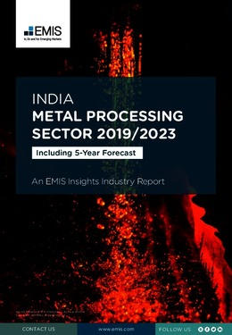 India Metal Processing Sector Report 2019/2023 - Page 1