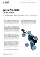 Latin America M&A Overview Report Q1 2019 -  Page 3