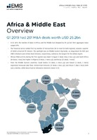 Africa and the Middle East M&A Overview Report Q1 2019 -  Page 3