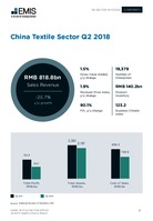 China Textile Manufacturing Sector Report 2018 3rd Quarter -  Page 13
