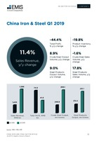 China Iron and Steel Sector Report 2019 2nd Quarter -  Page 12