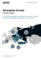 Emerging Europe M&A Overview Report H1 2019 -  Page 3
