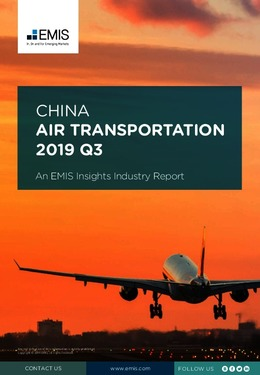 China Air Transportation Sector Report 2019 3rd Quarter - Page 1