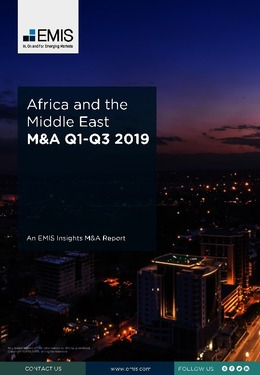 Africa and the Middle East M&A Overview Report Q1-Q3 2019 - Page 1