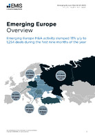 Emerging Europe M&A Report Q1-Q3 2020 -  Page 3