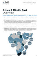 Africa and the Middle East M&A Report Q1-Q3 2020 -  Page 3