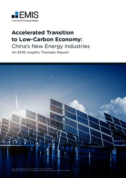 Accelerated Transition to Low-Carbon Economy: China's New Energy Industries - Page 1
